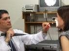 Videoendoscopía de oídos, nariz y garganta